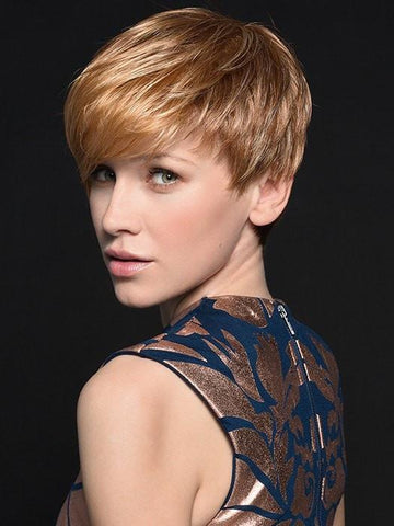 POINT by Ellen Wille in LIGHT MANGO MIX | Medium Copper Red, Copper Red, and Butterscotch Blonde Highlights