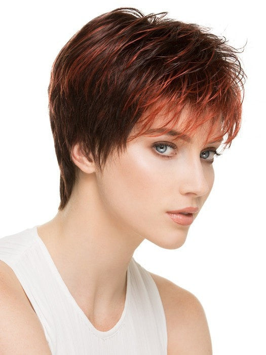 SCAPE BY Ellen Wille in FLAME MIX | Dark Burgundy Red, Bright Cherry Red, and Dark Auburn Blend