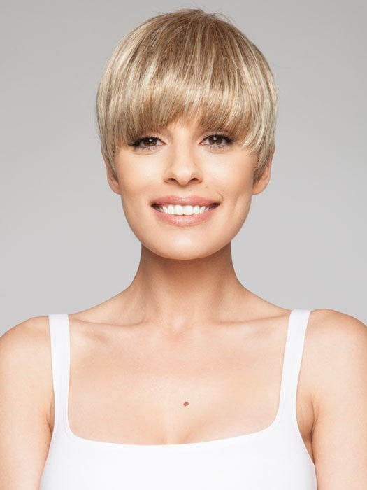 SPACE by Ellen Wille in SANDY BLONDE MIX | Medium Honey Blonde, Light Ash Blonde, and Lightest Reddish Brown Blend
