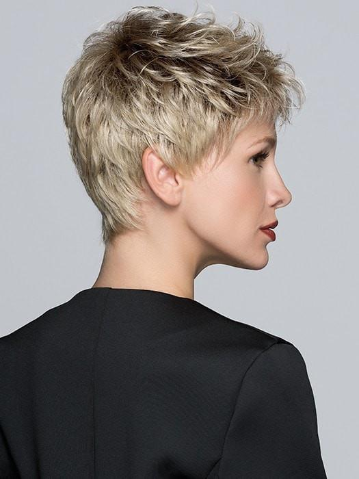 Wear this Pixie wig slicked, swooped, or spiked