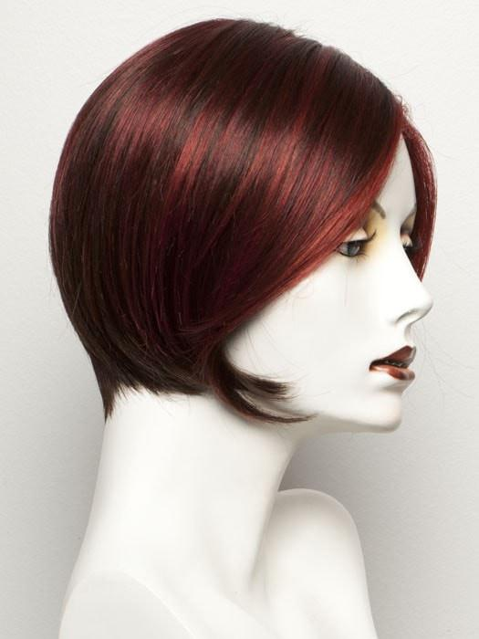 HOT FLAME MIX | Bright Cherry Red and Dark Burgundy mix