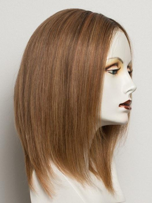 SOFT COPPER ROOTED | Medium Auburn, Copper Red, and Light Auburn blend with Dark Roots