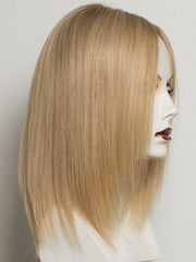 CHAMPAGNE ROOTED | Light Ash Blonde, Medium Golden Blonde,and Medium Honey Blonde blend and Dark Roots