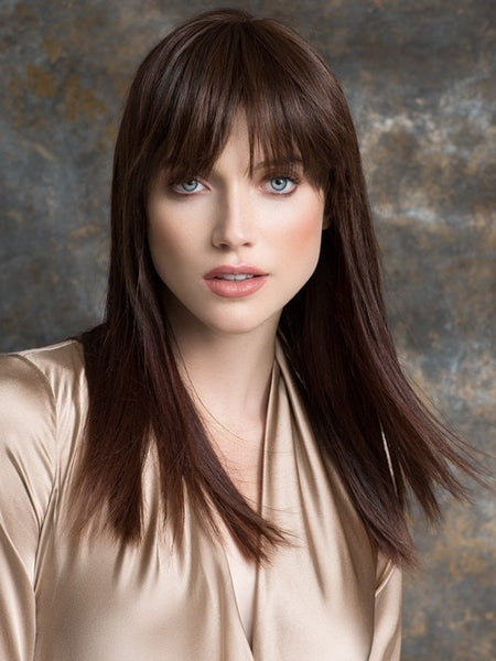 True Clip-In Bangs by Ellen Wille | Human Hair Synthetic Hair Blend