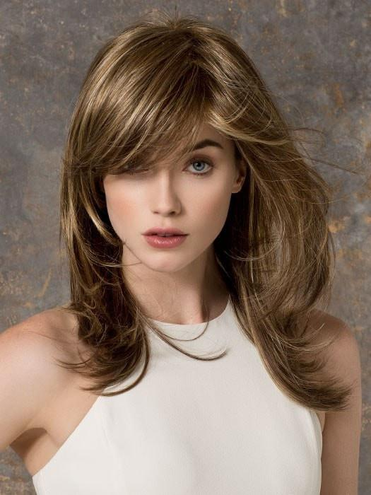 VOGUE by Ellen Wille in BERNSTEIN MIX | Light Brown Base with Subtle Light Honey Blonde and Light Butterscotch Blonde Highlights