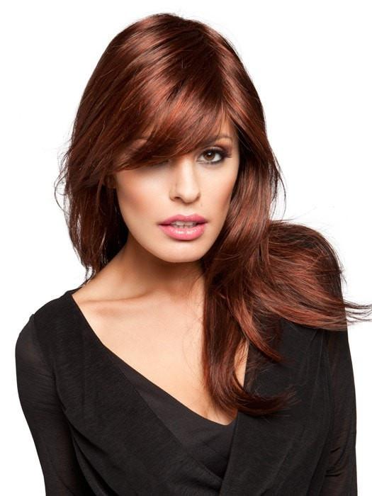VOGUE by Ellen Wille in AUBURN MIX | Dark Auburn, Bright Copper Red, and Warm Medium Brown blend
