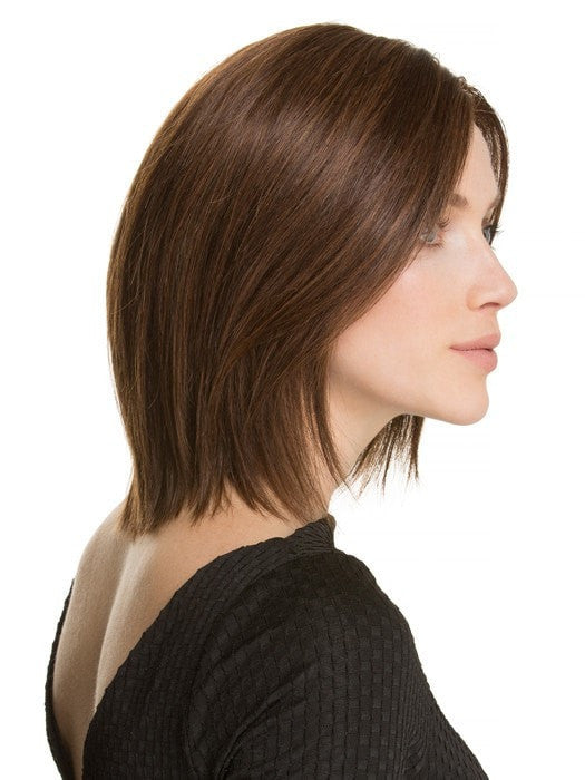 Monofilament Top- Hand-knotted to create the appearance of natural hair growth where the hair is parted