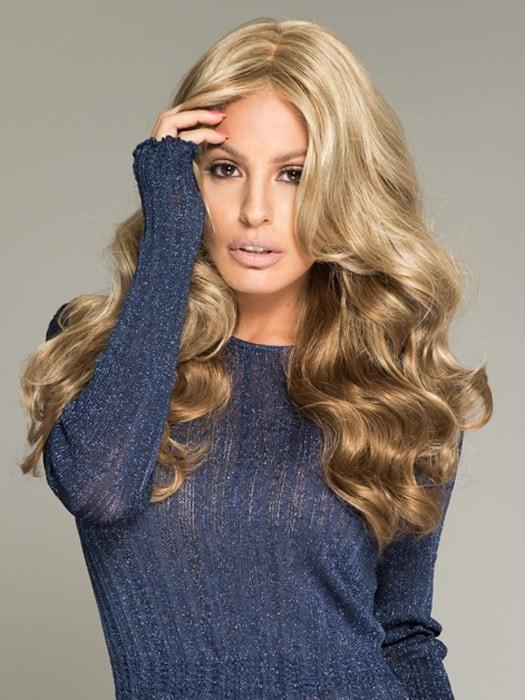 BRIANNA by Envy in DARK BLONDE | 2 toned blend of Dark Honey Blonde with Lighter Blonde highlights