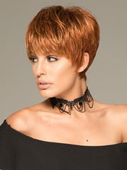 TIFFANY PETITE by Envy in Lighter Red | Irish Red with subtle Blonde highlights