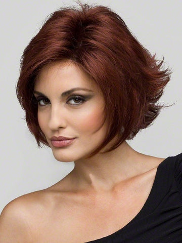 ANGIE by Envy in 33/32 DARK RED | Auburn with Brighter Red highlights