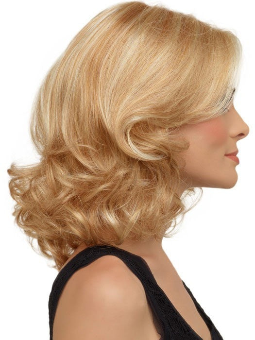 Ashley by Envy | Medium Length | Right Profile | Color LIGHT BLONDE