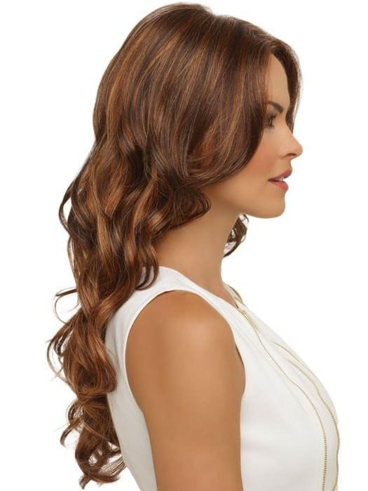Lace front creates the appearance of a natural hairline and allows for styling away from the face
