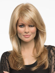 BROOKE by Envy in MEDIUM BLONDE | Soft Golden Blonde with Champagne Blonde highlights