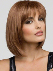 The monofilament top construction creates the appearance of scalp and natural hair growth