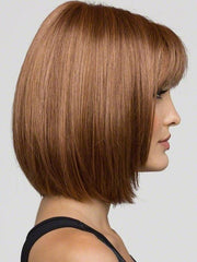 Cutting edge styling with face framing layers and razored edges to create a soft natural appearance