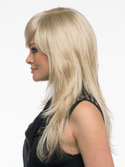 Wear forward, behind the ear, or in a low pony | Color: Light Blonde