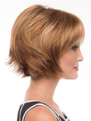 A layered, short shag wig that's modern and ready to wear