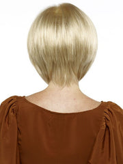 Envy Francesca Wig : Back View | Color LIGHT BLONDE