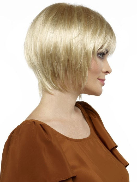 Envy Francesca Wig : Right Profile | Color LIGHT BLONDE
