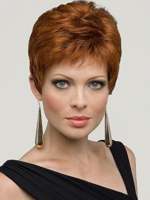 JEANNIE by Envy in LIGHTER RED | Irish Red with subtle Blonde highlights