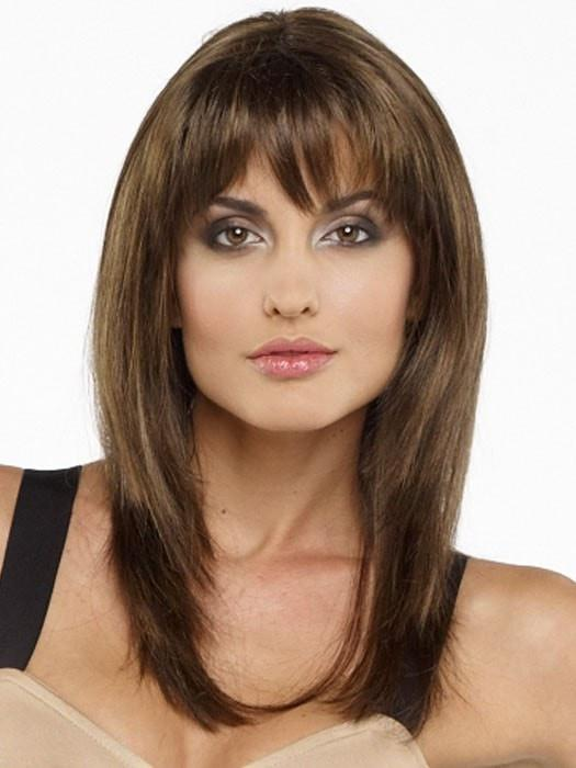 LEYLA by Envy in 10 MEDIUM BROWN | Medium Brown with Lighter Brown Natural highlights