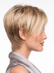 Asymmetrical Side Swept Fringe | Color: Sparkling-Champagne