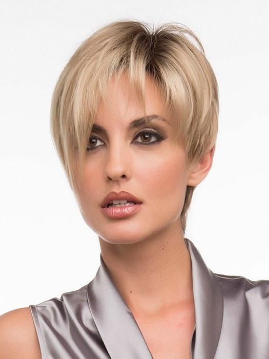 Wear the bang gathered and to the side or wispy by adding the Shaping Cream by BeautiMark