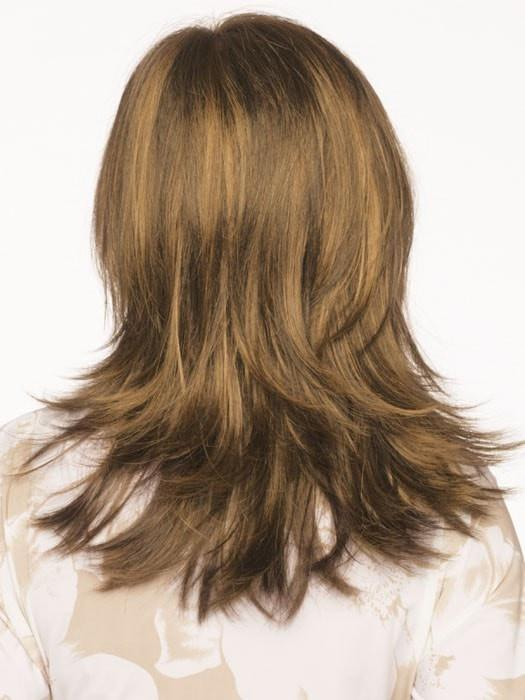 Envy Nadia Wig : Back View | Color LIGHT BROWN