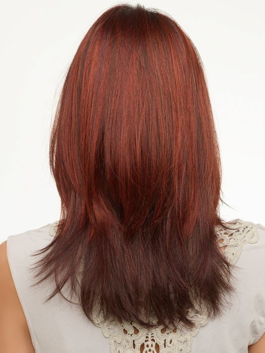 Envy Roxie : Back View | Color DARK RED