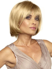 SCARLETT by Envy in GOLDEN NUTMEG | Medium Brown roots with overall Warm Cinnamon base and Golden Blonde hightlights