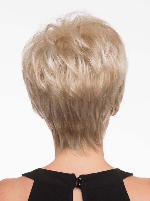 Volume at the crown with a tapered nape | Color: Light Blonde