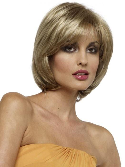 Sheila by Envy Wigs is a modern take on a classic short bob style.