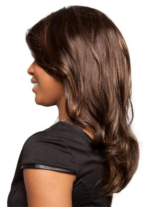 With the skin top part that makes the wig look so natural, you are sure to keep everyone guessing