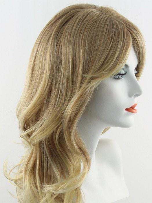 24B27C | Butterscotch Creme Blonde swirled with Strawberry Blonde