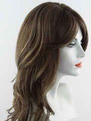 8/12/24BHL | Light Chestnut Brown mixed with Light Golden Brown highlighted with Butterscotch Creme Blonde
