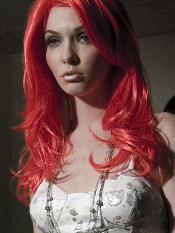 Red Colored Wig by Forever Young