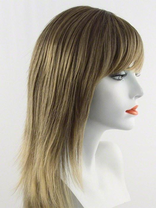 24BT18 | Butterscotch Creme Blonde swirled with Dark Ash Blonde
