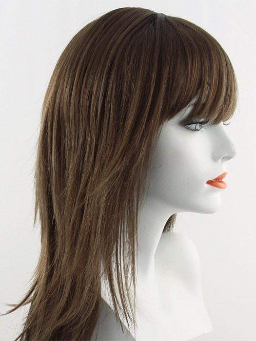 8/18/30HL | Light Chestnut Brown Mixed with Dark Ash Blonde Highlighted with Light Auburn