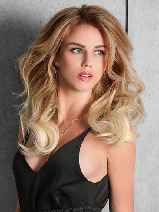 16 Sombre Clip In Hair Extensions By Hairdo Wigs