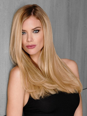 "R25 = Ginger Blonde | 18"" Remy Human Hair Extension Kit (10pc) by Hairdo"