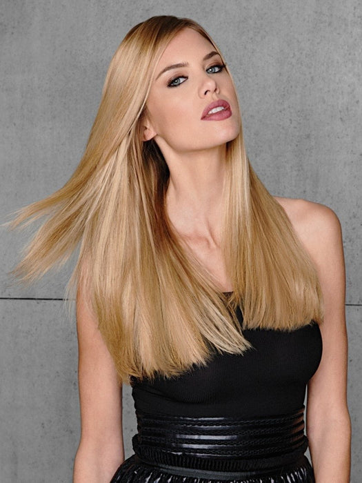 R25 = Ginger Blonde | 10 pc Human Hair Extension by Hairdo