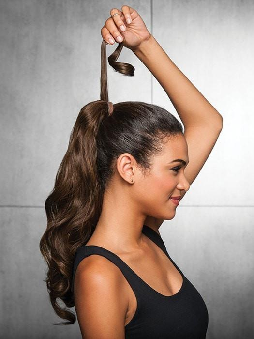 Create a show-stopping ponytail!
