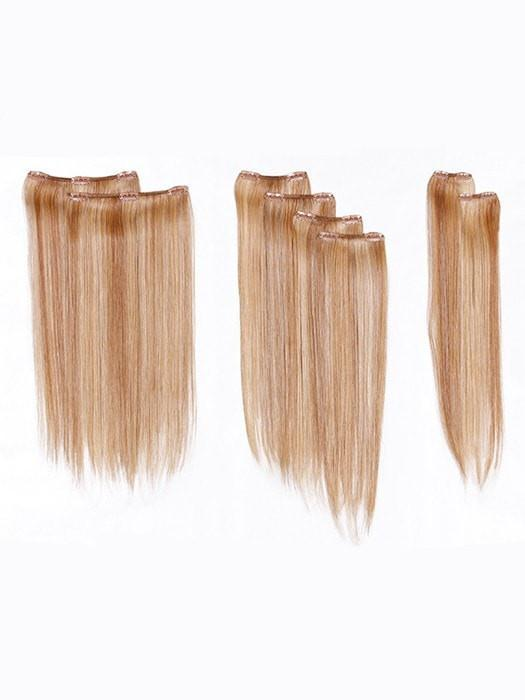 8 piece Straight Clip-In Hair Extensions by Hairdo