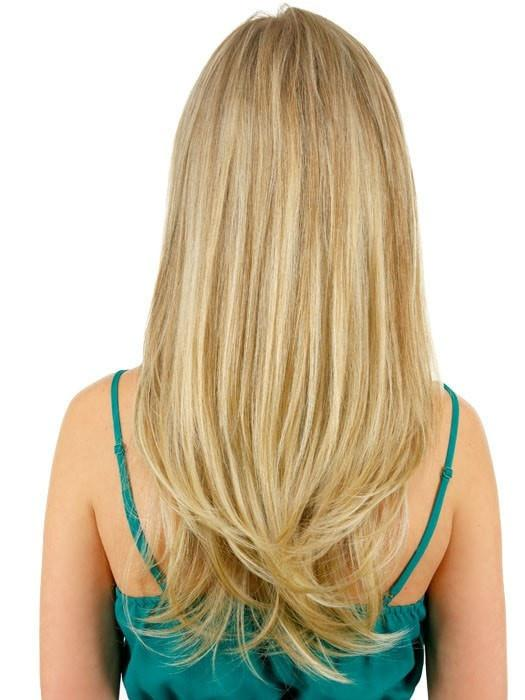 "22"" Straight HF Synthetic Hair Extension (1 Piece) 