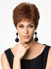 TEXTURED CUT by Hairdo in R3025S+ GLAZED CINNAMON | Medium Reddish Brown with Ginger hightlights