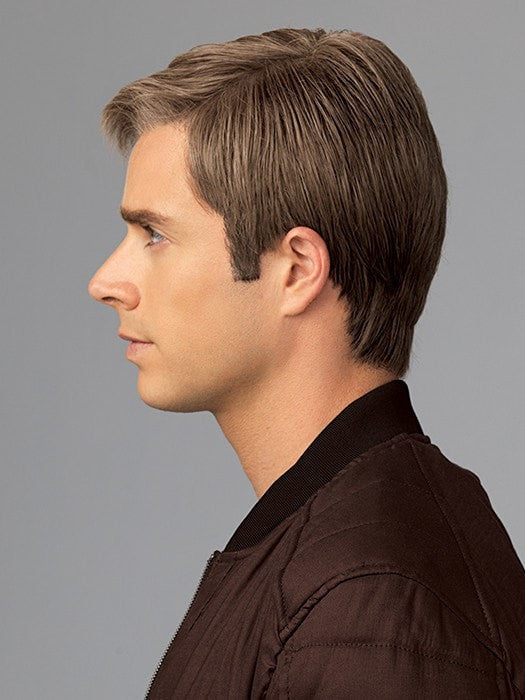 Silicone-Lined Ear Tabs and Extended Nape- Anti-slip to keep the wig securely in place | Color: M17S