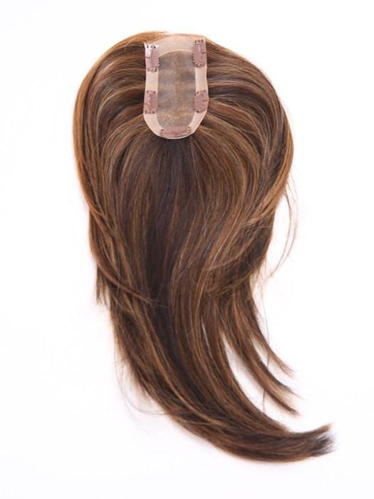 Hairpiece Base - 2.5 inch x 5 inch Monofilament for a natural looking coverage | Color: R830