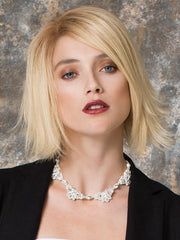 GLOSS by Ellen Wille in LIGHT CHAMPAGNE ROOTED | Pearl Platinum and Light Golden Blonde Blend with Medium Brown Roots