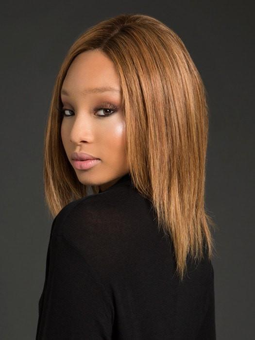TRINITY PLUS by Ellen Wille in SOFT COPPER ROOTED | Medium Auburn, Copper Red, and Light Auburn blend with Dark Roots
