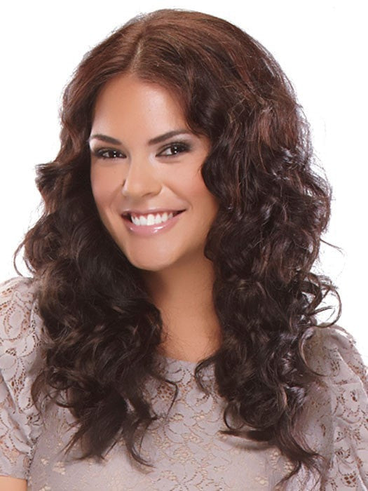 20 inch Wavy easiXtend (HD) Heat Defiant Clip In Extensions by easihair | Color 4/33